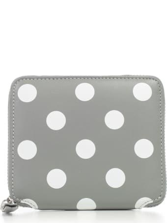 Comme des Garçons Wallet Wallet Medium Dots Printed Leather Line