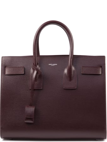Saint Laurent Small Sac De Jour Embossed Leather Bag