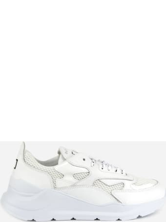 D.A.T.E. Fuga Sneakers In Leather