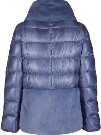 Herno Light Blue Down Jacket
