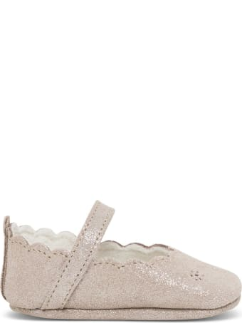 Tartine et Chocolat Glitter Crib Shoes