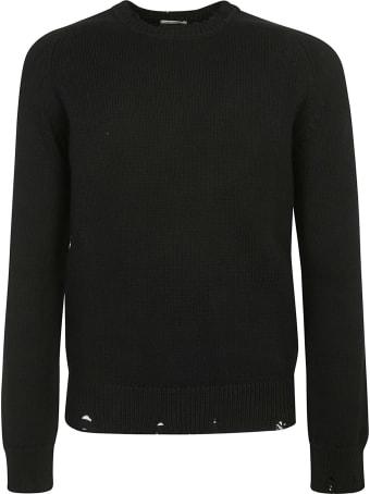 Saint Laurent Used Detail Crew Neck Sweatshirt