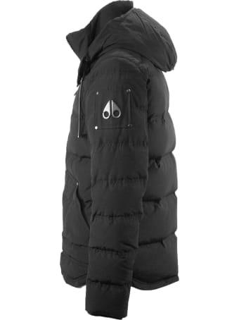 Moose Knuckles Black Down Padded Coat
