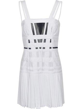 Giovanni Bedin Tulle Tank Strap Mini Dress