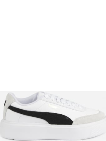 Puma Select Oslo Maja Archive Sneakers In Leather With Suede Inserts