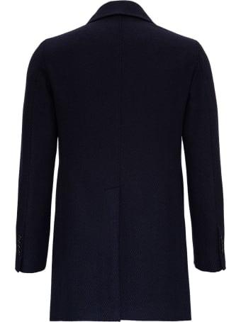 Tagliatore Wool Twill Pea-coat