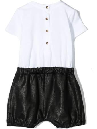 Balmain White Cotton Playsuit