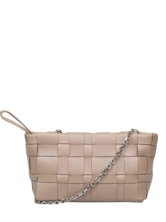 3.1 Phillip Lim Phillip Lim Odita Bag In Coffee Color Woven Leather