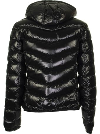 Colmar Ultra-glossy Hooded Bomber Jacket Black