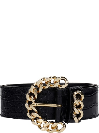 Kate Cate Belts In Black Leather