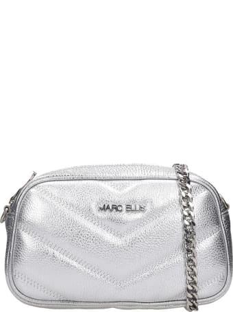 Marc Ellis Bonnie Clutch In Silver Leather