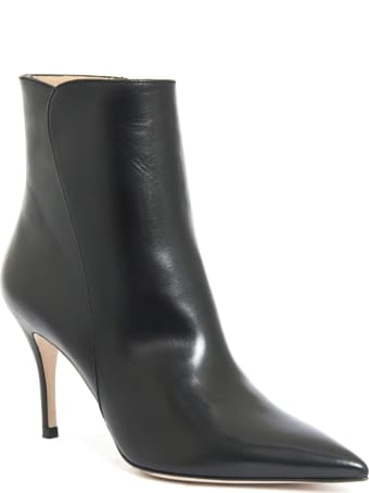 Roberto Festa Else Ankle Boot In Black Leather