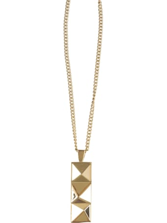 Northskull Necklace With In'n'out Tag