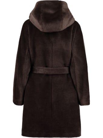 Agnona Faux Fur Coat