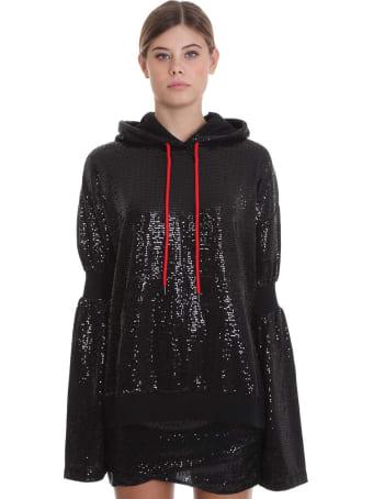 Marcelo Burlon Sweatshirt In Black Cotton