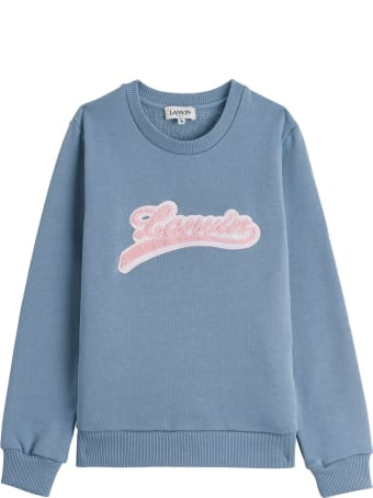 Lanvin Jersey Sweater With Logo