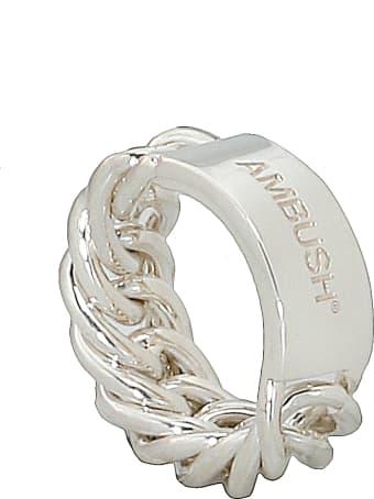 AMBUSH Silver Chain Ring