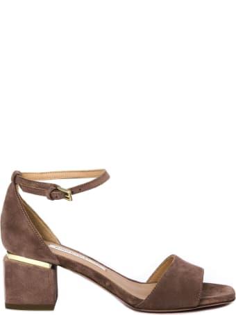 Roberto Festa Brown Apice Suede Sandals