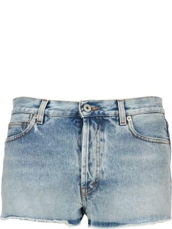 HERON PRESTON Short Denim Pants