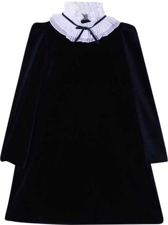 Il Gufo Blue Dress