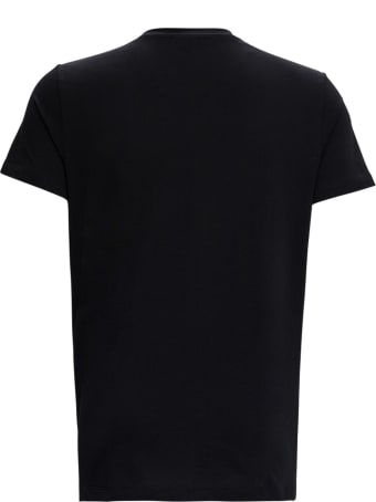 Balmain Cotton T-shirt With Logo Print