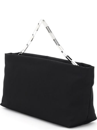 The Attico Wynona Medium Nylon Clutch