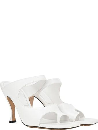 Bottega Veneta Square-toed Sandal