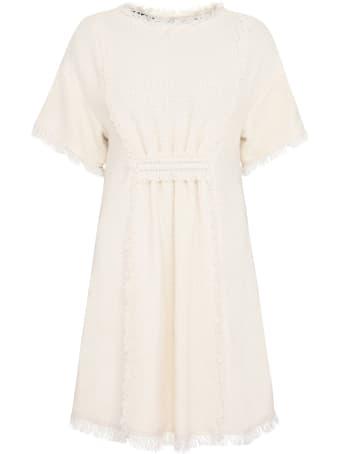 Alberta Ferretti Cotton-blend Dress