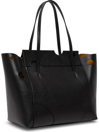 Off-White Burrow 38 Back Leather Shopper Bag