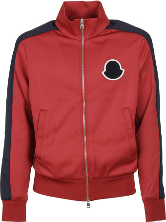 Moncler Silhouette Logo Patch Bomber