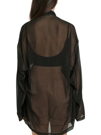 Acne Studios Shana Georgette Shirt
