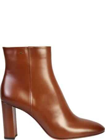 Santoni Zipped Boots