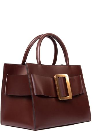 BOYY Bobby 32 Oxblood Smooth Leather Handbag