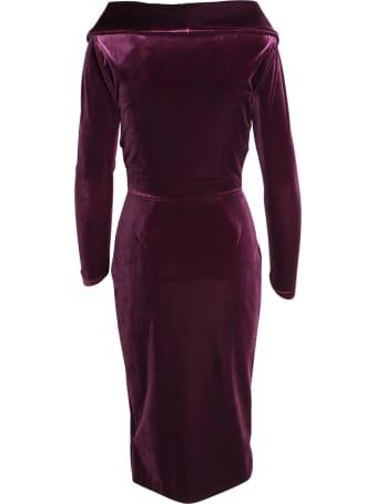 La Petit Robe Di Chiara Boni Le Petite Robe By Chiara Boni 'sarabi' Polyester Dress