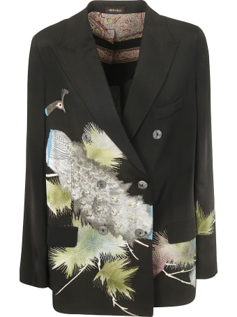 Ibrigu Double Breasted Blazer