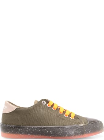 FW_D F_wd Fabric Sneakers