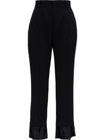 Noir Kei Ninomiya Black Wool Pants