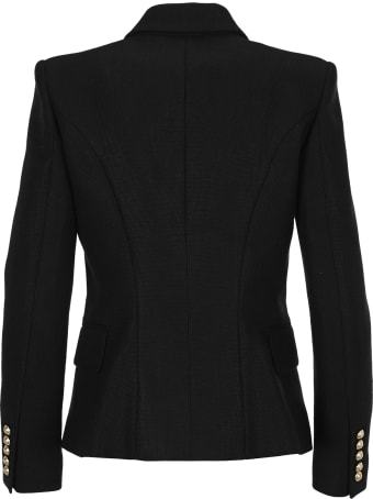 Balmain Double Breast Fitted Jacket