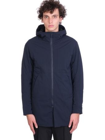 Arc'teryx Veilance Mionn Is Coat  Puffer In Blue Nylon