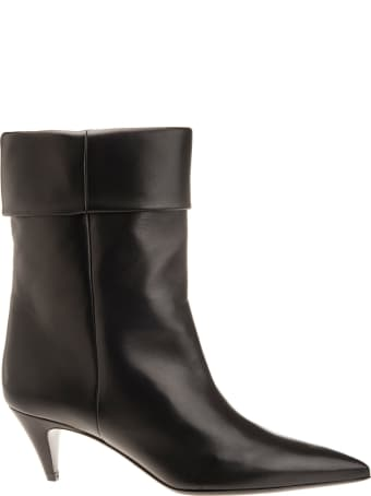 Saint Laurent Ankle Boot With Cuff