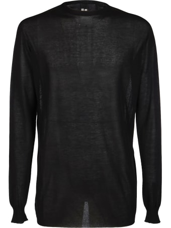 Rick Owens Black Cotton Top