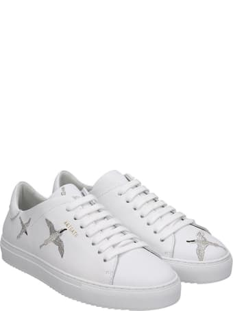 Axel Arigato Clean 90 Sneakers In White Leather