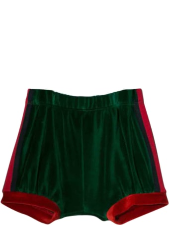 Gucci Shorts With Side Stripes