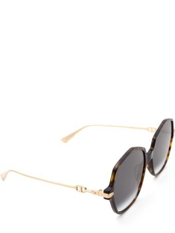 Dior Dior Diorlink2 Havana Sunglasses