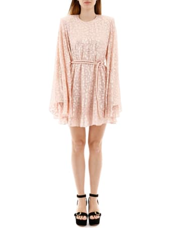 Stella McCartney Mini Dress With Lame' Embroideries