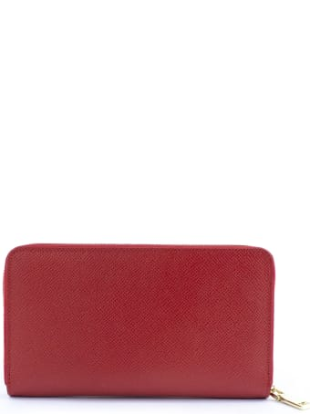 Avenue 67 Red Leather Wallet