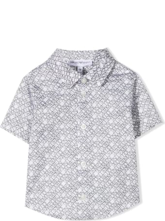 Emporio Armani Shirt With Short Sleeves And Logo