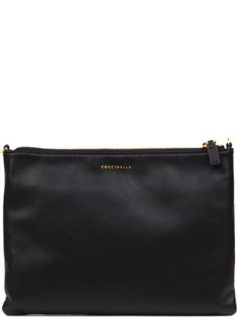 Coccinelle Black Best Leather Bag