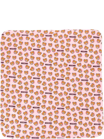 Moschino Pink Blanket