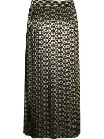 Celine Jupe Plissee Longue Skirt